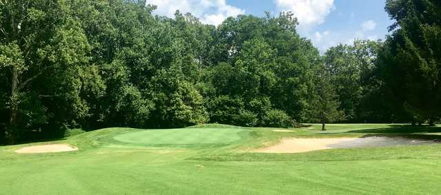 View of a green at Shelbyville Country Club