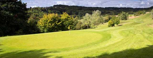 A view from Wycombe Heights Golf Centre