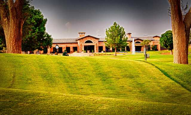A view of the clubhouse at Odessa Country Club (Al Escamilla).
