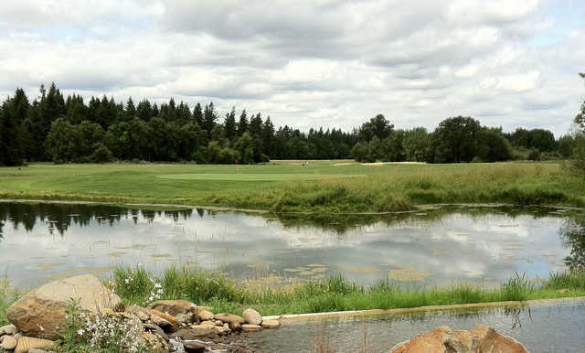 A view from Eagle Creek Golf Course