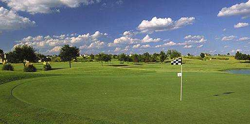 A view of green at Blackhawk Golf Club