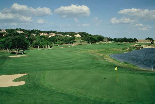 A view of green at SilverHorn Golf Club of Texas