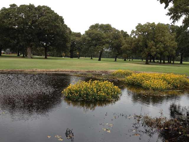 A view of a green at Deer Run Golf Club.