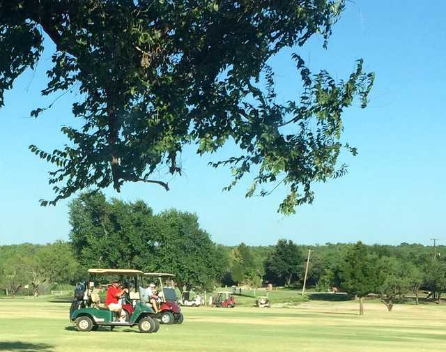 A sunny day view from Sweetwater Country Club.