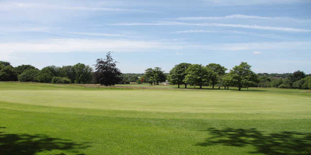 View of the 9th hole at Verulam Golf Club