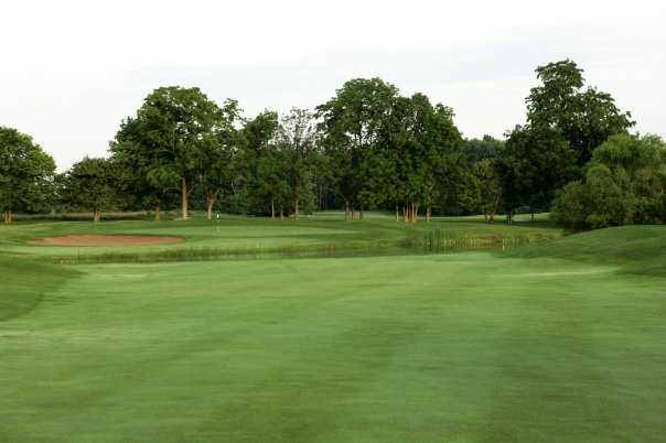 A view of the 15th hole at Wood Wind Golf Club