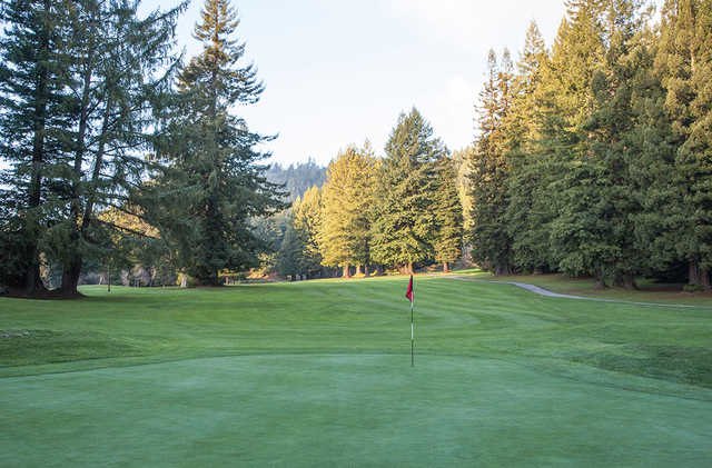 A view of hole #11 at Baywood Golf & Country Club.