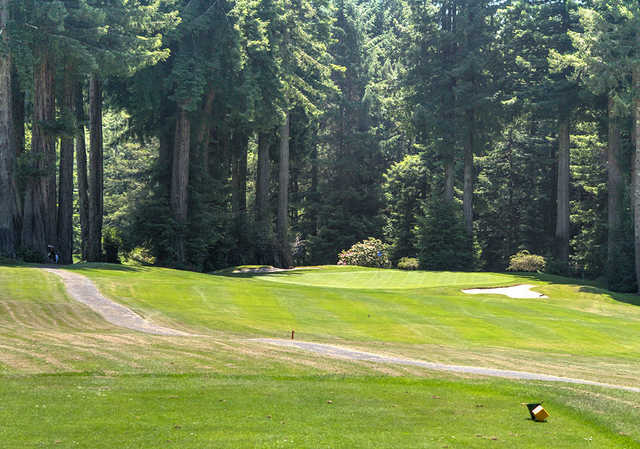 A view from the 15th tee at Baywood Golf & Country Club.