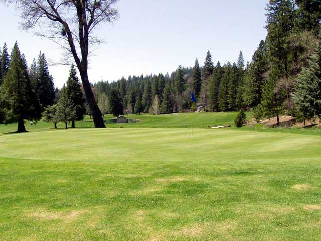 A view of the 4th hole at Meadowmont Golf Course.
