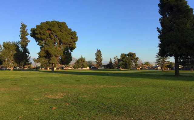 A view of a fairway at Exeter Golf Course.