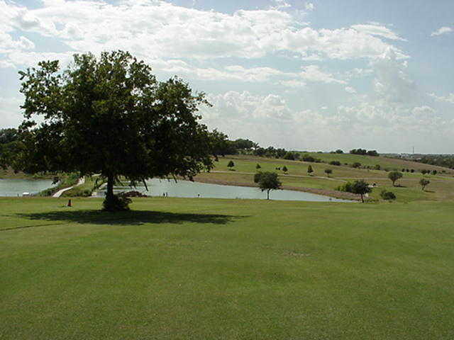 A view from Mustang Creek Golf Course