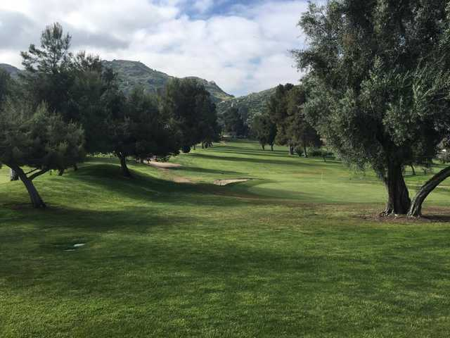 A view of a green at Echo Hills Golf Club (Kelly Maddox).