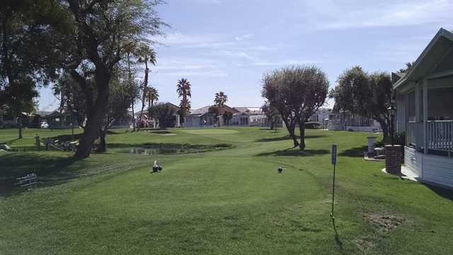A view from tee #12 at Rancho Casa Blanca Country Club.