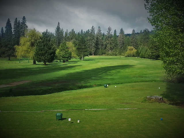 A view from a tee at McCloud Golf Club.