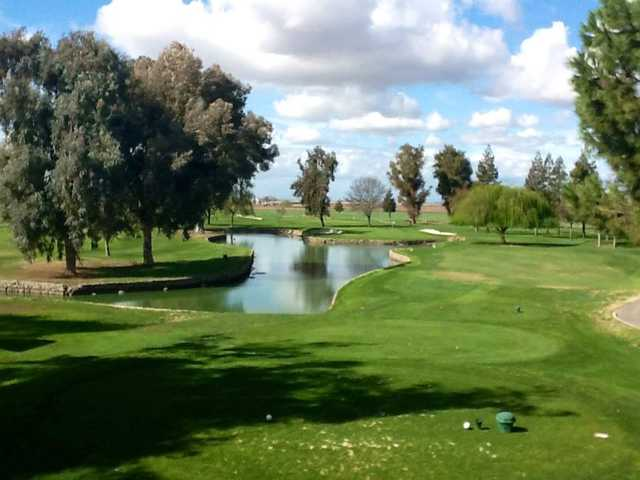 A view from a tee at Merced Golf & Country Club.