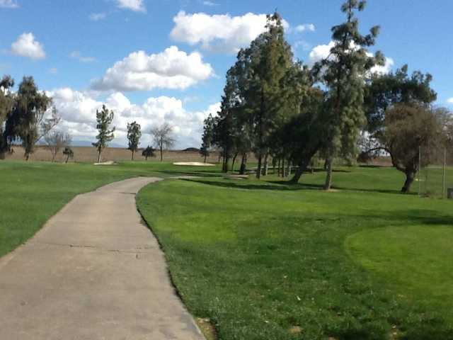 A view of green at Merced Golf & Country Club.