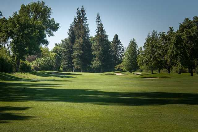 A view from the 1st fairway at Spring Creek Golf Course & Country Club.