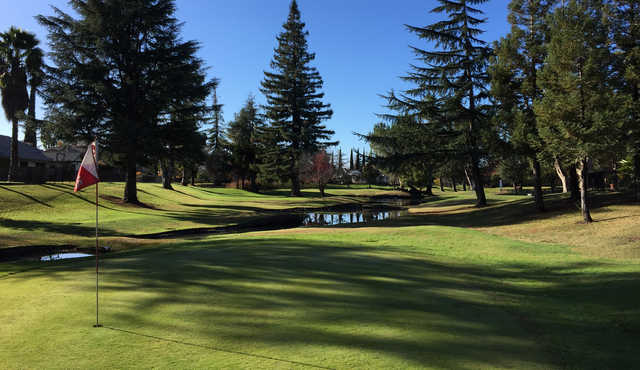 A view of hole #6 at Venetian Gardens Golf Course.