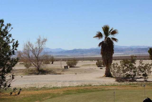 A view from Trona Golf Course.