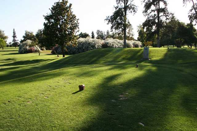 A view of tee #4 at Turlock Golf & Country Club.