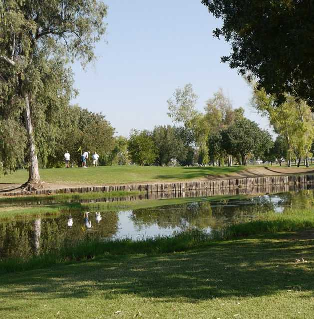 A view from Tulare Golf Course