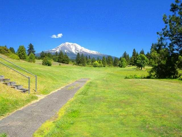 A view from a tee at Weed Golf Club.