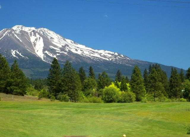 A view from Weed Golf Club.