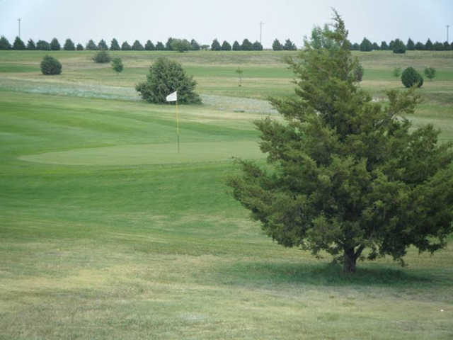A view of hole #2 at F & H Golf Course.