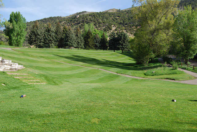A view from the 4th tee at Glenwood Springs Golf Club.