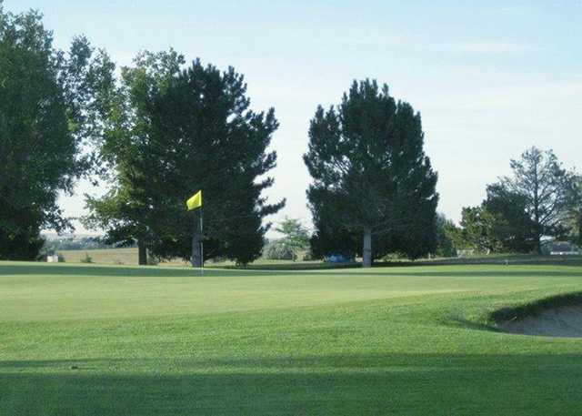 A view of a hole at Tamarack Golf Course (Town of Limon, CO).