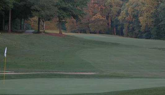 A view of hole #4 at Cobb's Glen Country Club
