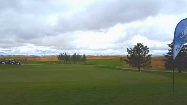 A view from Bell Nob Golf Course (Gillette College).
