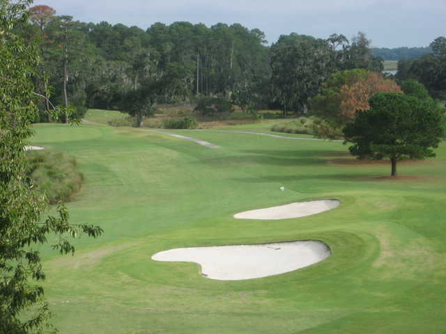 A view from Sanctuary Golf Club