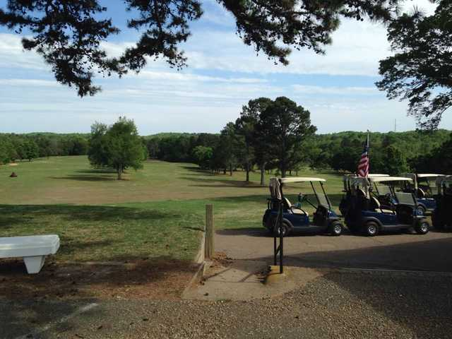 A view of two fairways at Deer Trail Country Club (Anthony Flaherty).