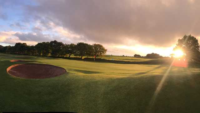 View of a green at Pleasington Golf Club