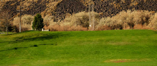A view of a hole at Clear Lake Country Club.