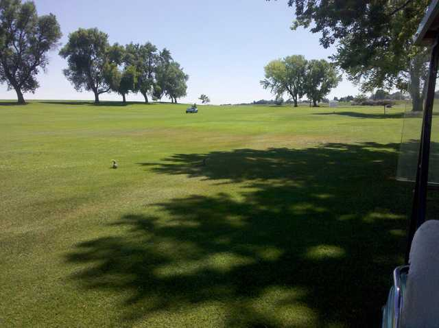 A view from Gooding Golf Course.