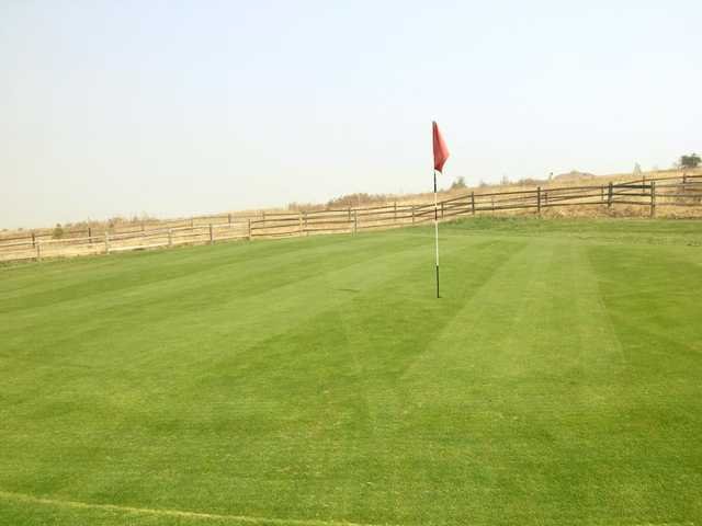 A view of a green at Grangeville Country Club.