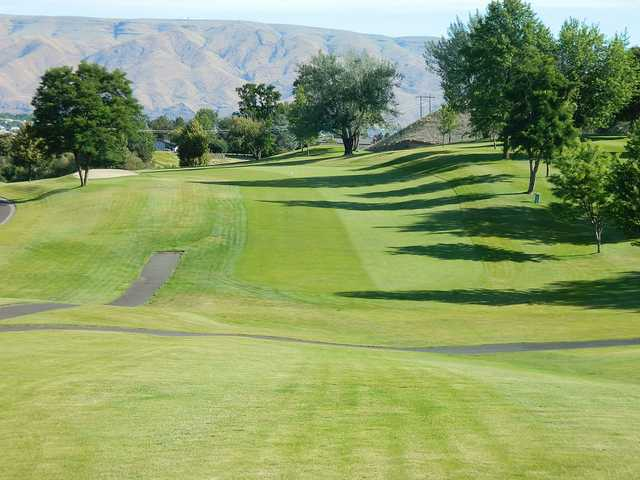 A view of the 17th fairway at Lewiston Golf & Country Club.