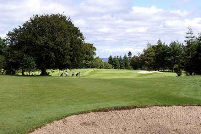 View of a green at East Kilbride Golf Club