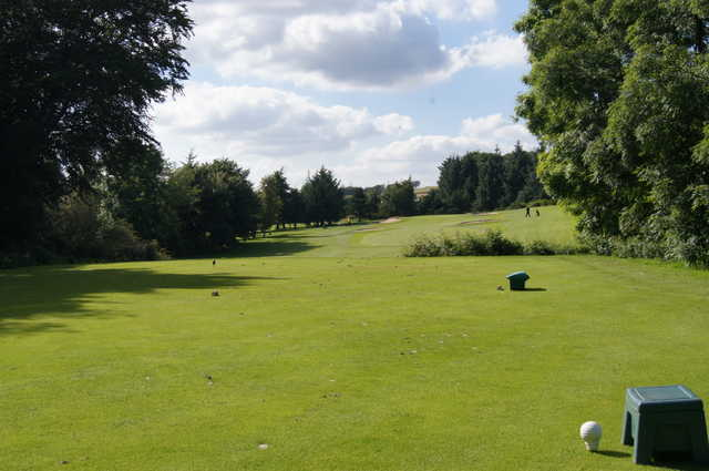 View from a tee at East Kilbride Golf Club