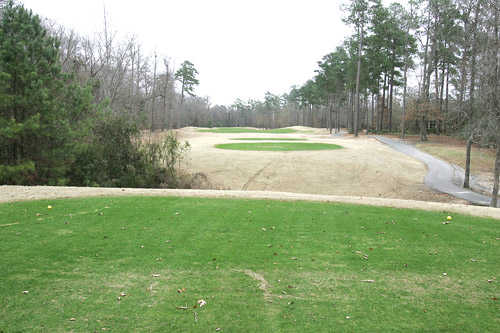 A view from tee #3 (yellow) at Creekside Course from Traces Golf Club