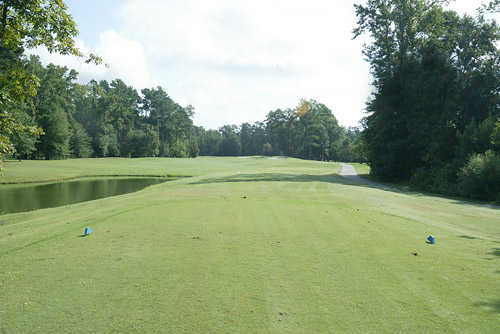 A view from tee #5 (blue) at Woodlands Course from Traces Golf Club
