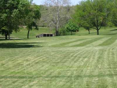 A view from the 9th tee at Pasfield Golf Course.