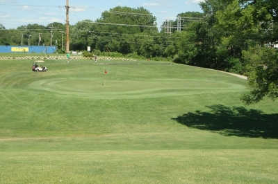 A view of hole #4 at Bergen Golf Course.