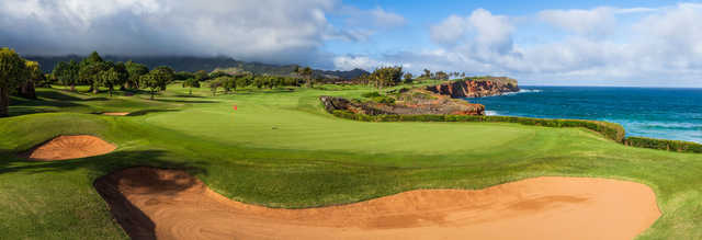 View of the 16th hole at Poipu Bay Golf Course