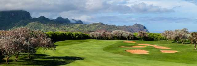 View of the 2nd hole at Poipu Bay Golf Course
