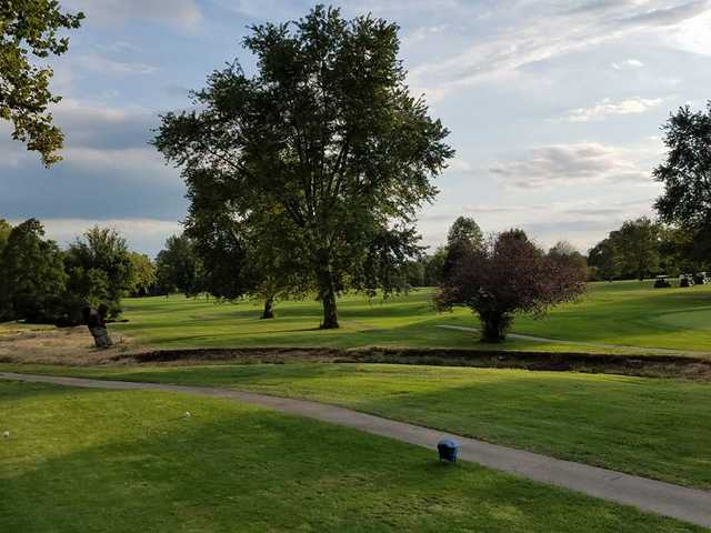 A view from a tee at Winding Branch Golf Course (Shelley Newton).