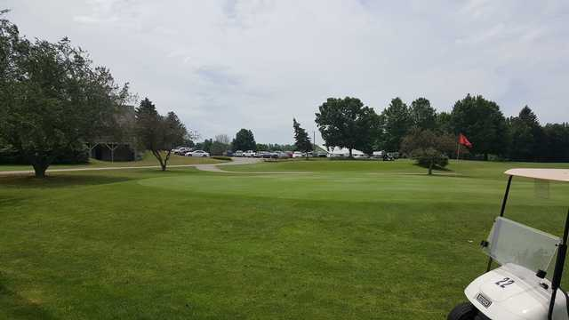 A view of a green at Raber Golf Course (Clarence Miller).