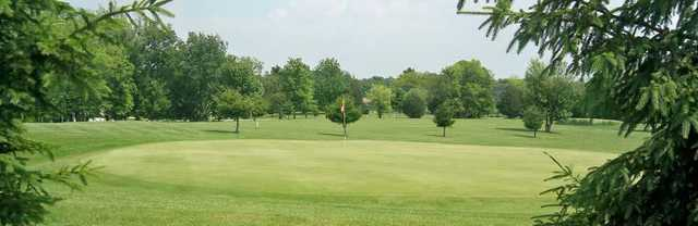 A view of a green at Old Hickory Golf Course.